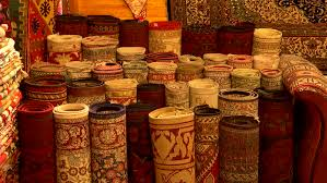 Istanbul Carpet Stock Video Footage