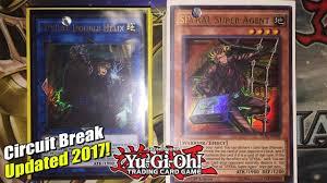 Top Ten Yugioh Decks 2017 by Yu Gi Oh New Updated Spyral Deck Profile Circuit Break Double