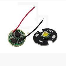 cree single die xm l t6 10w white led light emitter bulb 16mm pcb