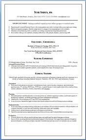New Grad Nursing Resume Examples Of Resumes