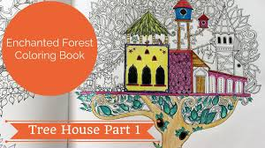How I Color Tree House Part 1