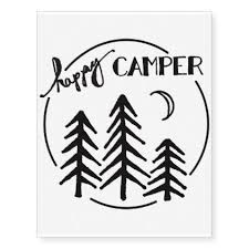 Happy Camper Tattoo