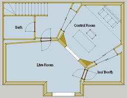 John Sayers Recording Studio Design Forum Topic Need Home Building Floor Plan Ideas Detached