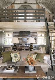 Mix And Chic Home Tour A Rustic Refined Tennessee Log Cabin