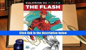 Download BookK The Flash An Adult Coloring Book Dc DOWNLOAD PDF