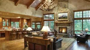Open Plan Ranch Homes Unique Floor Plans Rustic For Style Home Las