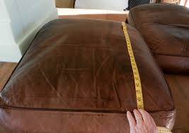 Replacement Sofa Pillow Inserts by Fix Flattened Down Leather Sofa Cushions Modhomeec