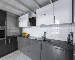 premium küchenfolie hochglanz grau möbelfolie für küche