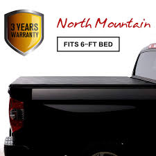 Amazon.com: North Mountain Soft Vinyl Roll-up Tonneau Cover, Fit 05 ...