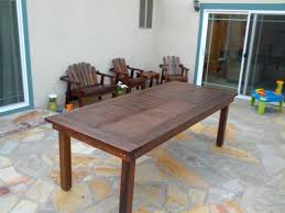 100 Heavy Wood Dining Room Chairs Ana White Oversized Redwood Duty Outdoor Table DIY