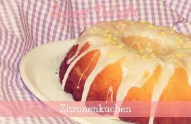 sweet delight on zitronenkuchen lemon cake