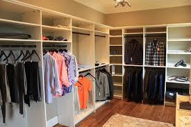 u shaped closet corner rods houzz