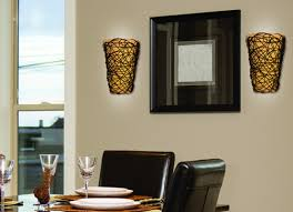 battery operated wall sconce wicker style pertaining to cordless