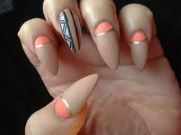 Stunning Acrylic Nail Designs Almond Shaped Art Pics For Cute