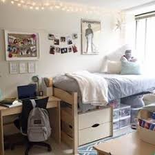 Dorm Room Love The Idea Of Putting Dresser Under Your Bed For