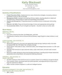 Coles Resume Example 42 Best Other Qualifications Cv Eczalinf Of 29 Awesome