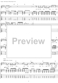 Smashing Pumpkins Soma Tab by Thru The Eyes Of Ruby With Tab Staff Sheet For Piano And