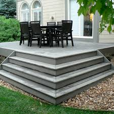 Small Patio And Deck Ideas by Pictures Of Composite Decks And Steps Small Composite Deck With