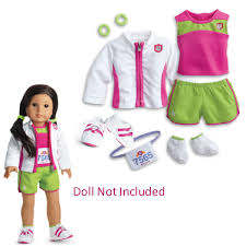 American Girl My AG 2 In 1 Track Outfit 2day Delivery For Sale