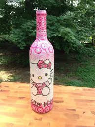 Decorative Wine Bottles Crafts by 27 Best Hand Painted Wine Bottles Images On Pinterest Paint Wine
