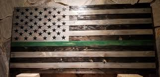 American Thin Green Line Flag