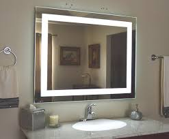 wall mounted lighted vanity mirror led mam84032 inside
