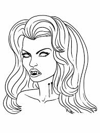 Vampire Diaries Coloring Pages Wwwtopsimagescom