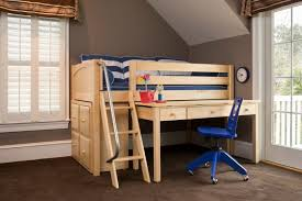 Back to School Ready with Kids Study Loft Beds with Desk