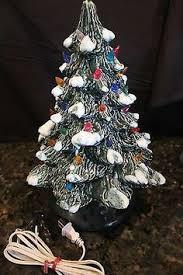Vintage Atlantic Mold Ceramic Christmas Tree by Unique Hand Painted Ceramic Christmas Tree 17