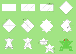 Origami Paper Folding Step By Art Classes Kids