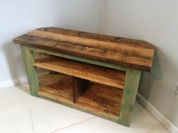 Image Of Rustic Entertainment Center Diy