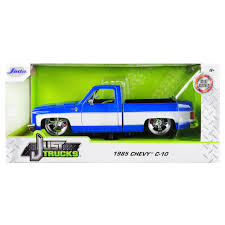 100 Custom Toy Trucks Details About New 1985 Chevrolet Silverado C10 Pickup Truck Wheels Blue And White Just