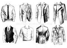 Drawn Men Suit Draw 1