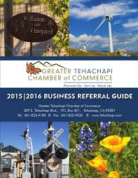 Apple Shed Restaurant Tehachapi by Greater Tehachapi Chamber Of Commerce 2015 2016 Business Referral