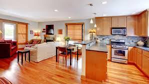 Living Room Kitchen Open Floor Plan Home Design Wondrous Flooring For And