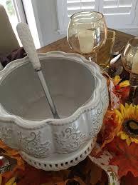 Pumpkin Soup Tureen And Bowls by White Pumpkin Soup Tureen And Individual Tureens