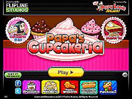 jeux de cuisine papa s papa s cupcakeria un des jeux de papa louie sur jeux jeu fr