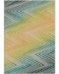 Amazing Deal on Bright Dotted Wendover Indoor Outdoor Area Rug