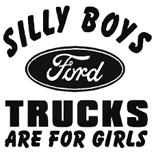 100 Trucks For Girls Silly Boys D Are Decal Sticker