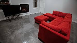 Epoxy Coating Transforms Boring Flooring