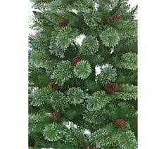 7 Ft Pre Lit Christmas Tree Argos by Buy Pre Lit Ridgemere Pine Dew Drop Tip Christmas Tree 6ft At