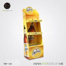 Supermarket Creative Beer Counter Display Rack Store Pallet