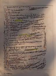 Foto de manuscrito