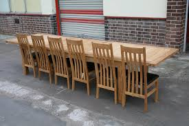 Catchy Large Extending Dining Table Seats 10 12 14 16 People Huge Big Tables
