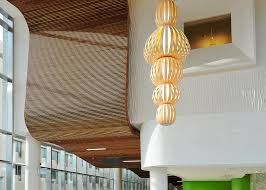 Rulon Wood Grille Ceiling by 14 Rulon Wood Grille Ceiling Hunter Douglas Plafonds And