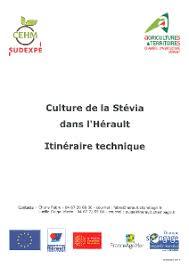 chambre agriculture 34 culture de la stévia dans l hérault itinéraire technique