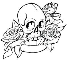 Heart Rose Coloring Pages Pictures Of Roses And Hearts Free Printa