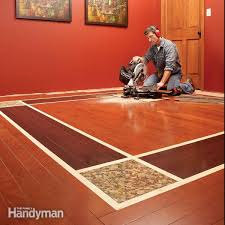 wood floor tiles how to install a floor transition with screws