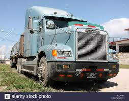 Freightliner Semi Truck On The Highway In Honduras, Central America ...