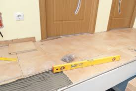 how to level tiles granite tile countertop for kitchen